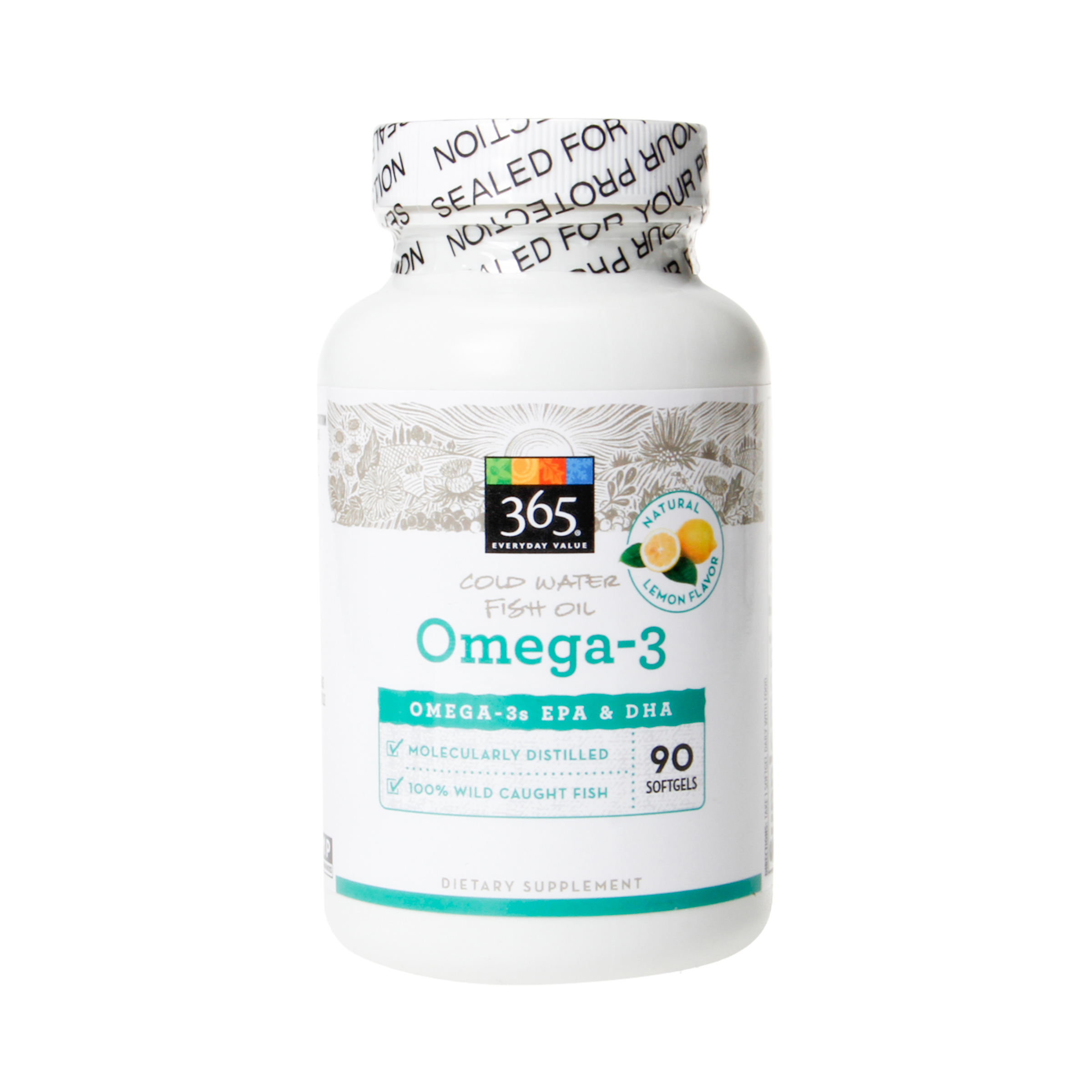 365 everyday value omega 3 cold water fish oil natural for Whole foods fish oil