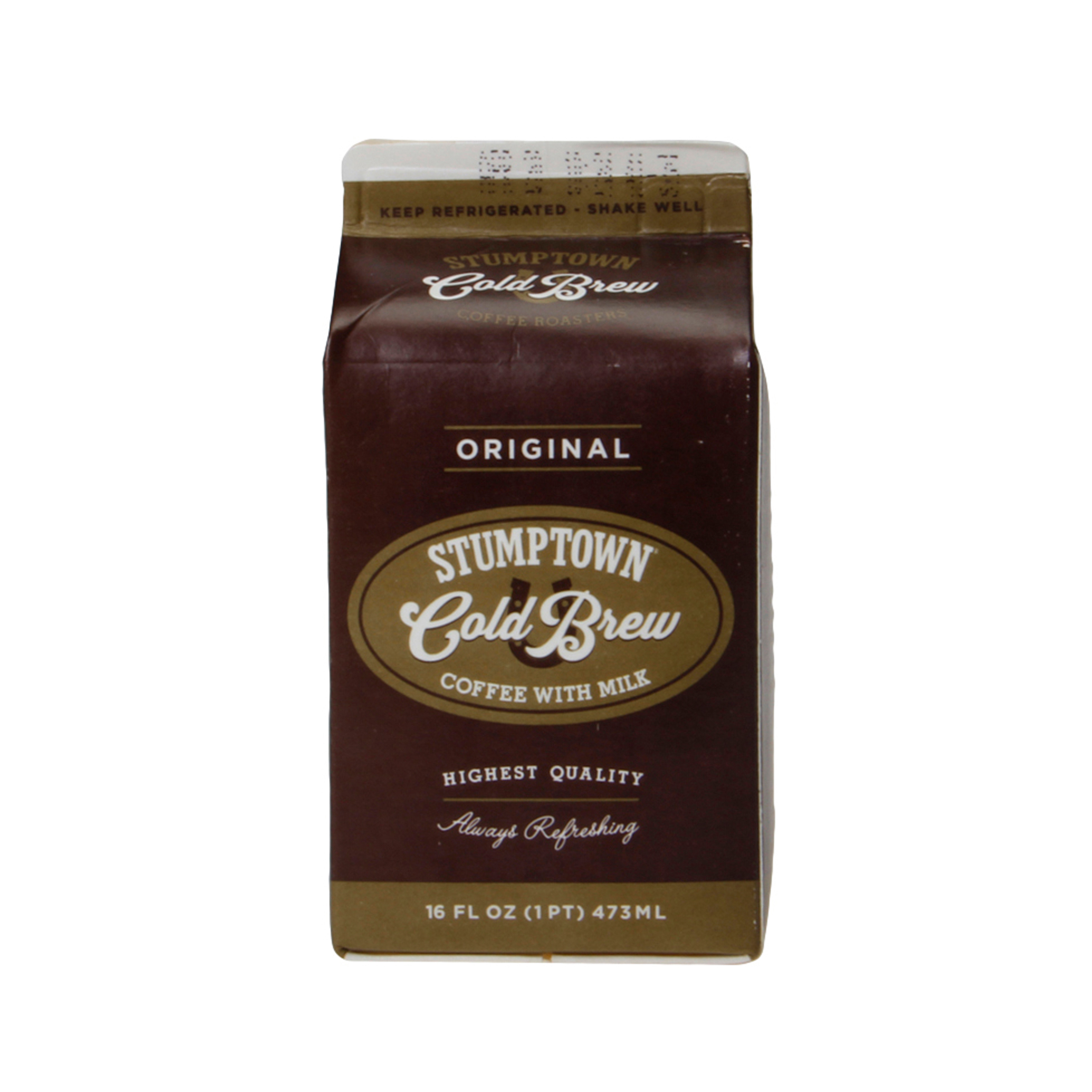 Cold Brew Coffee With Milk 16 Fl Oz Stumptown Coffee Roasters Whole Foods Market