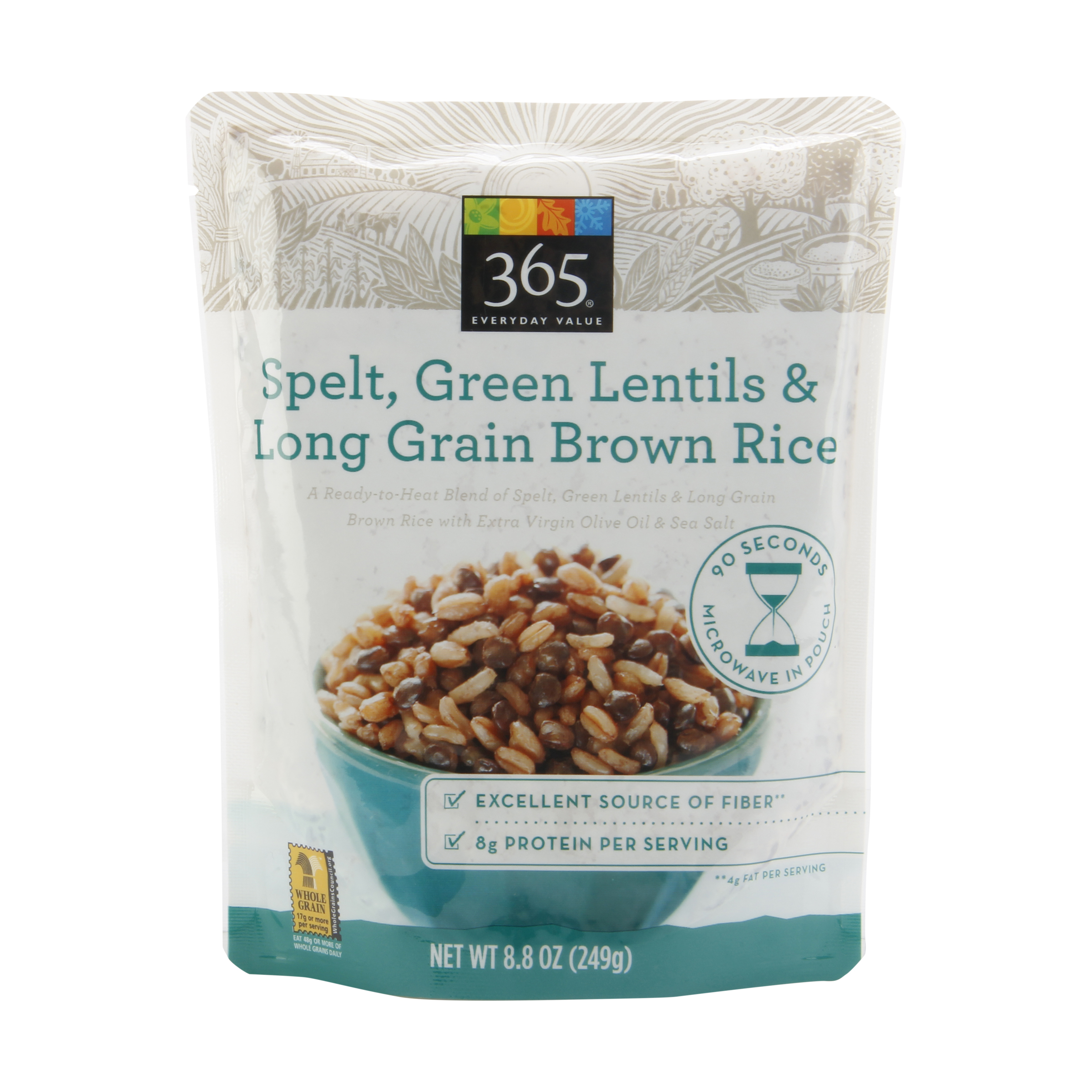Whole Foods Lentils Spelt Brown Rice