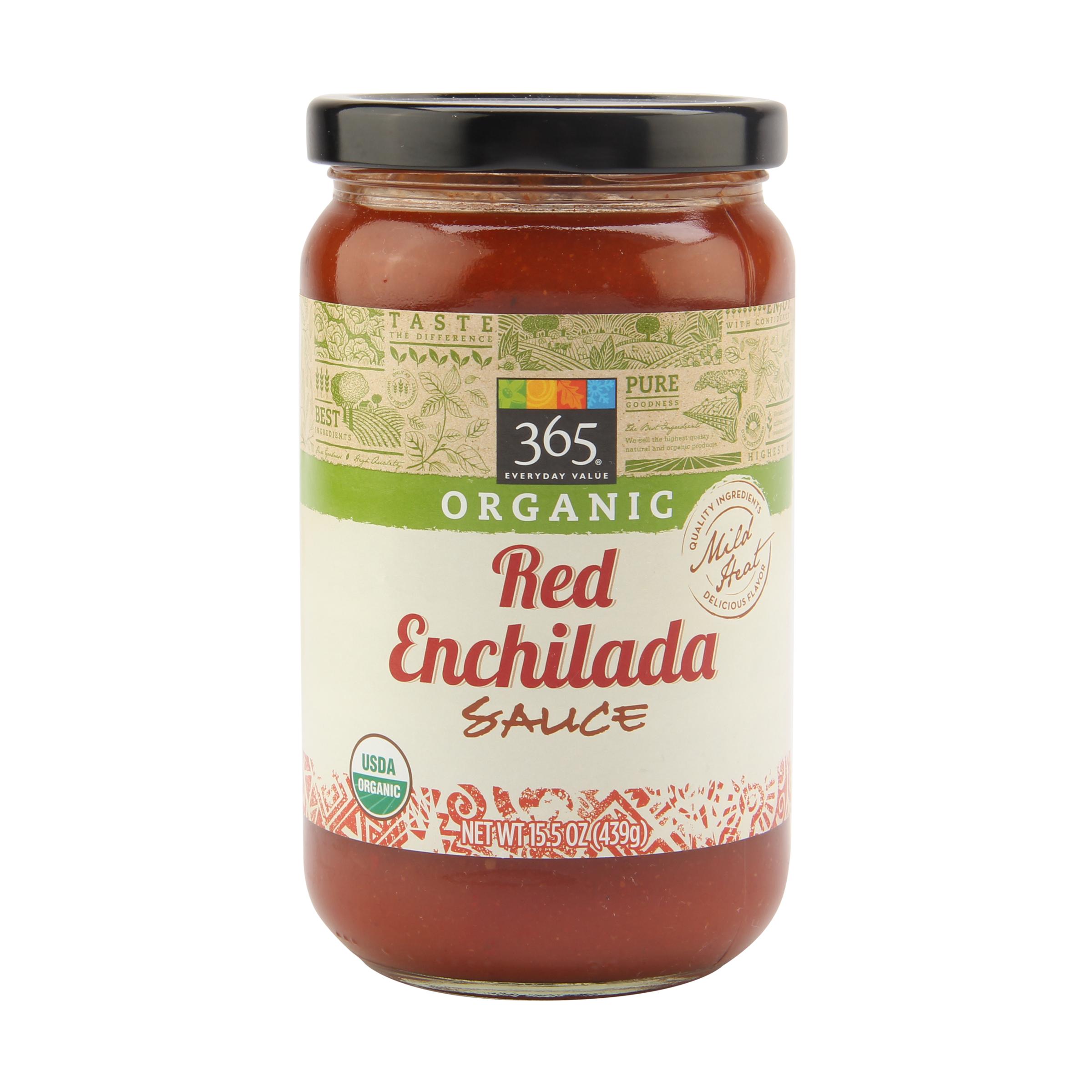 Organic Enchilada Sauce Whole Foods