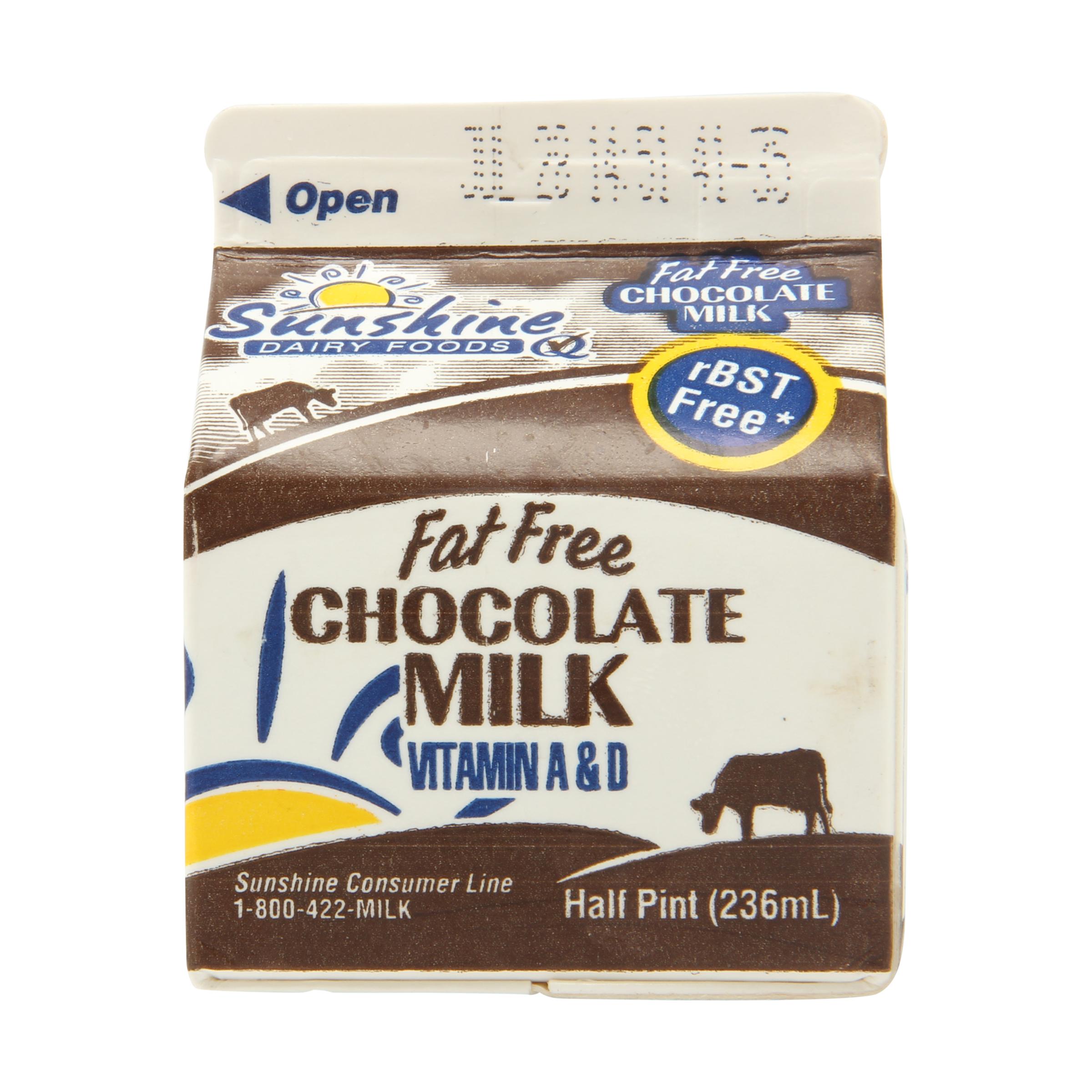 Fat Free Chocolate Milk - Pumpkin Chocolate Chip Cookies