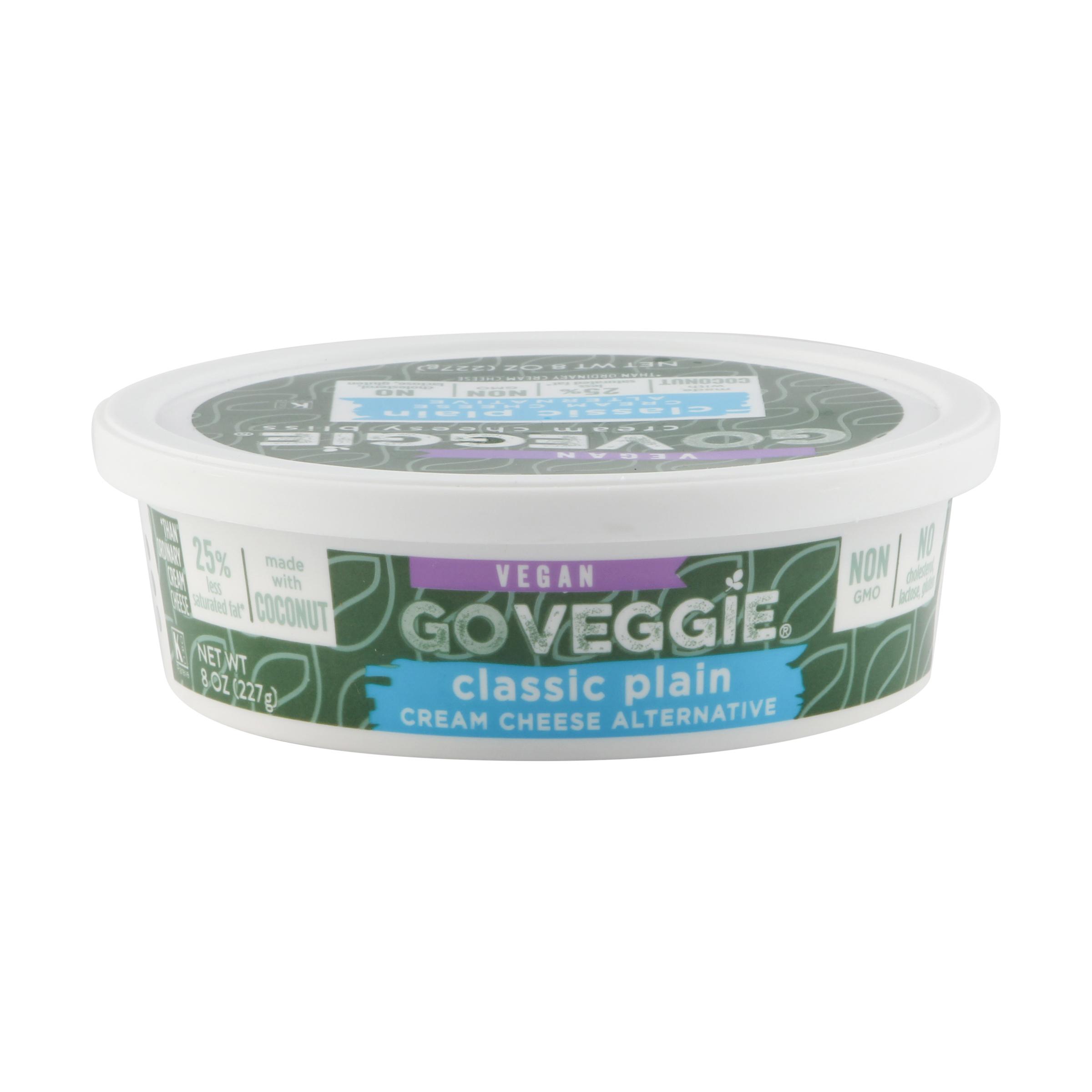Classic Plain Cream Cheese Alternative 8 Oz Go Veggie Whole Foods Market