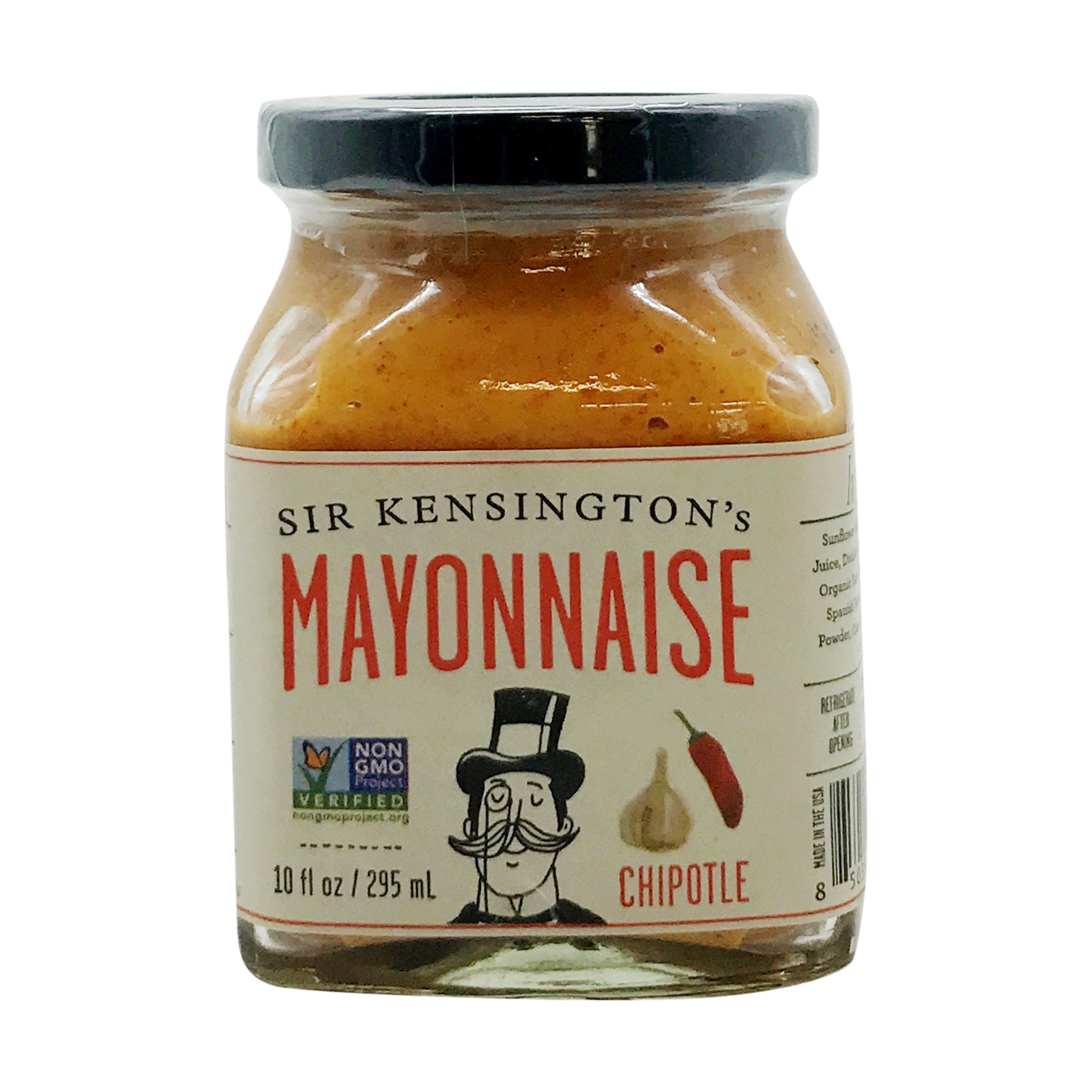 Chipotle Mayonnaise 10 Fl Oz Sir Kensington S Whole Foods Market