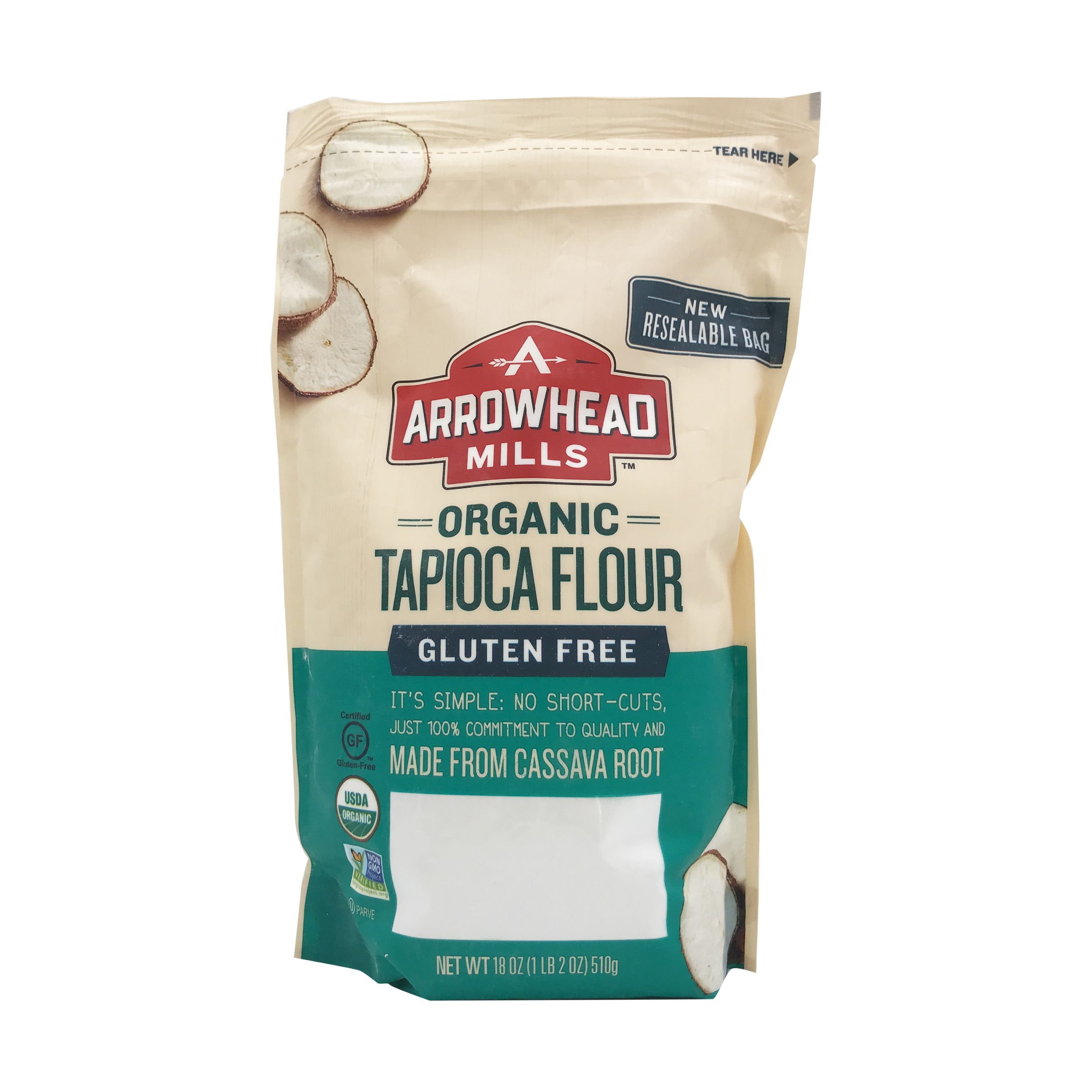 Organic Tapioca Flour, 18 oz, Arrowhead Mills | Whole Foods Market