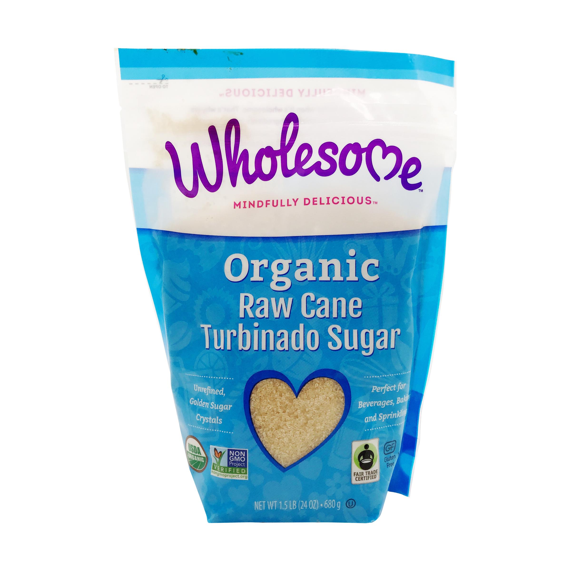 Organic Turbinado Raw Cane Sugar, 24 oz