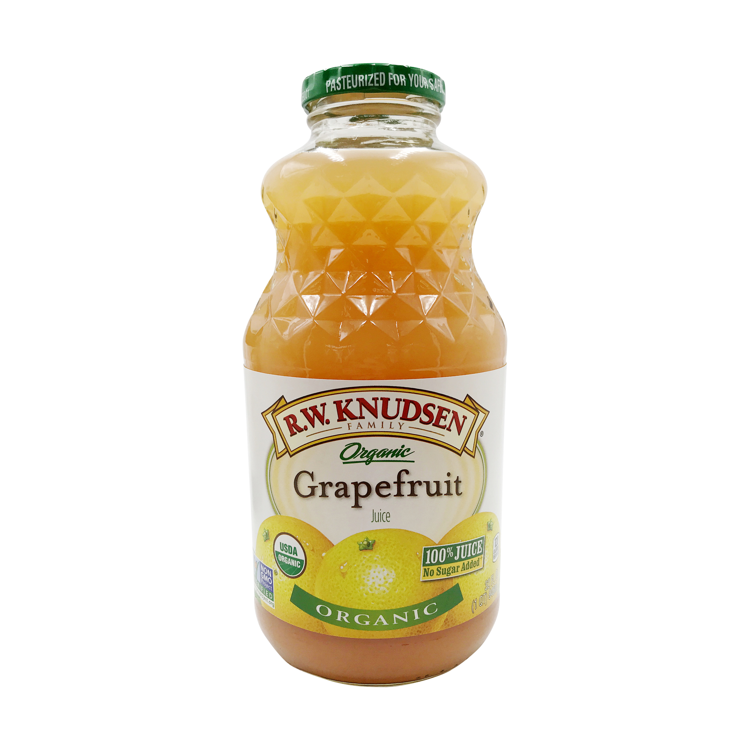 Organic Grapefruit Juice, 32 fl  oz , R W  Knudsen Family