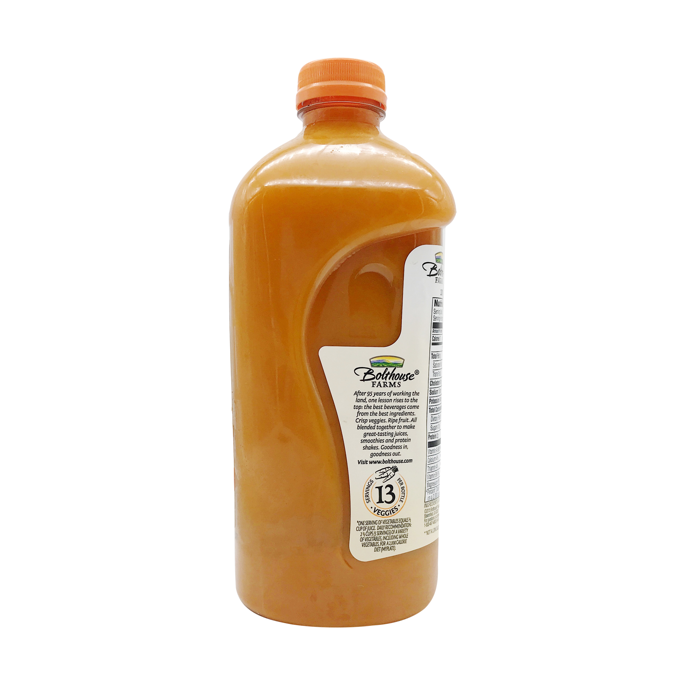 Bolthouse Farms 100% Carrot Juice, 48 fl. oz., Bolthouse Farms .