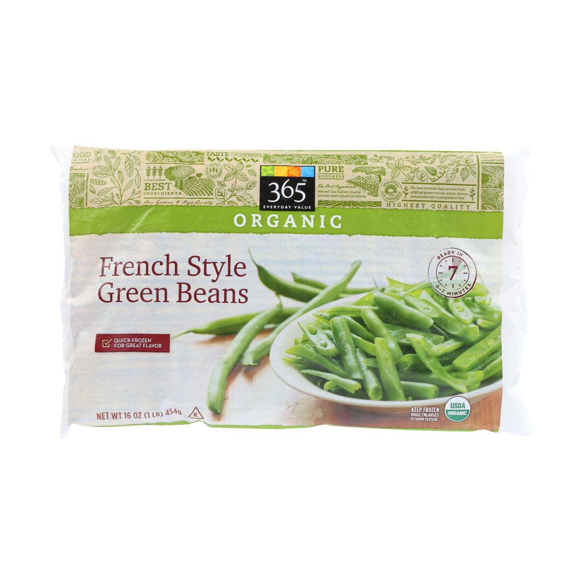 best frozen veggies - green beans