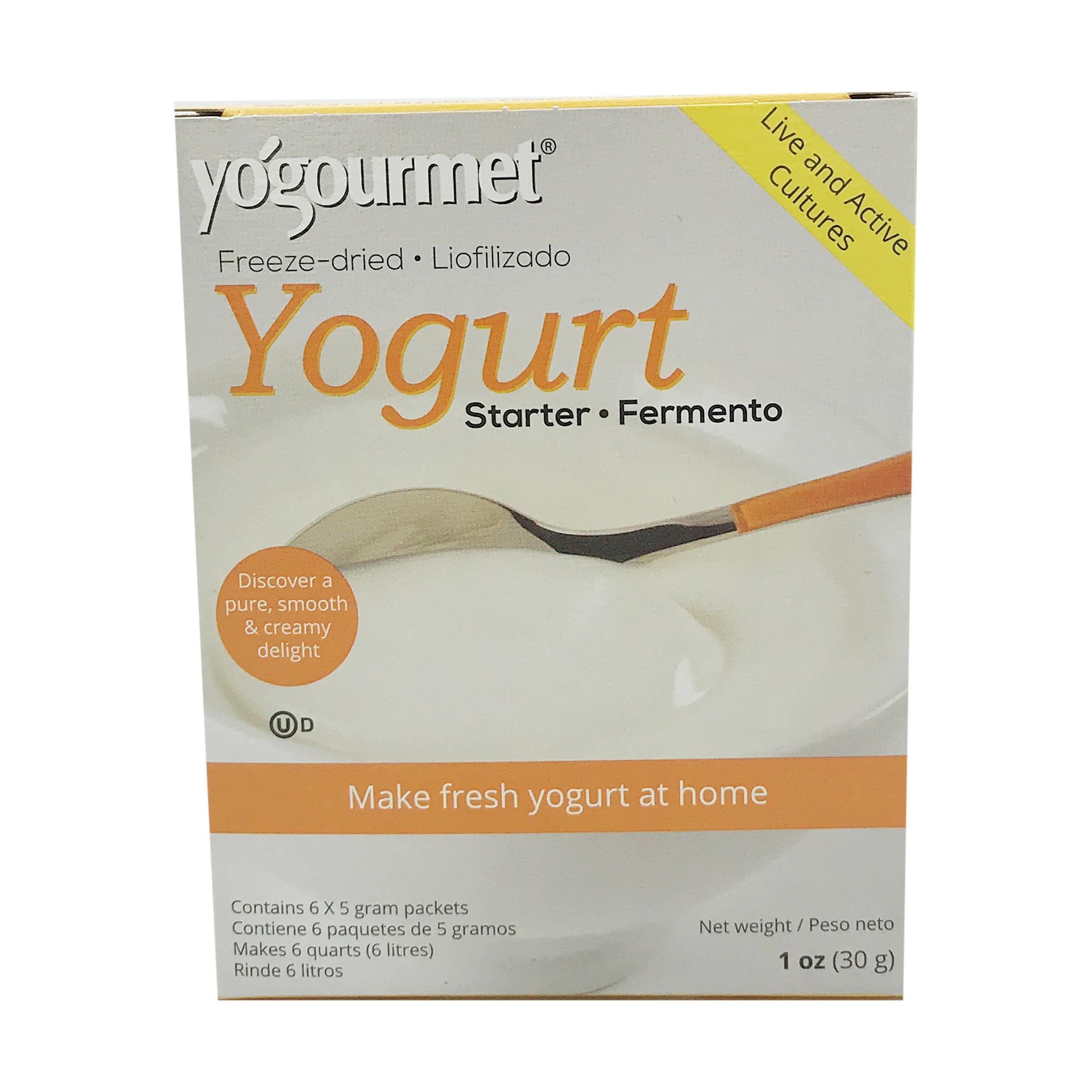 Freeze-dried Yogurt Starter, 1 oz, yogourmet | Whole Foods
