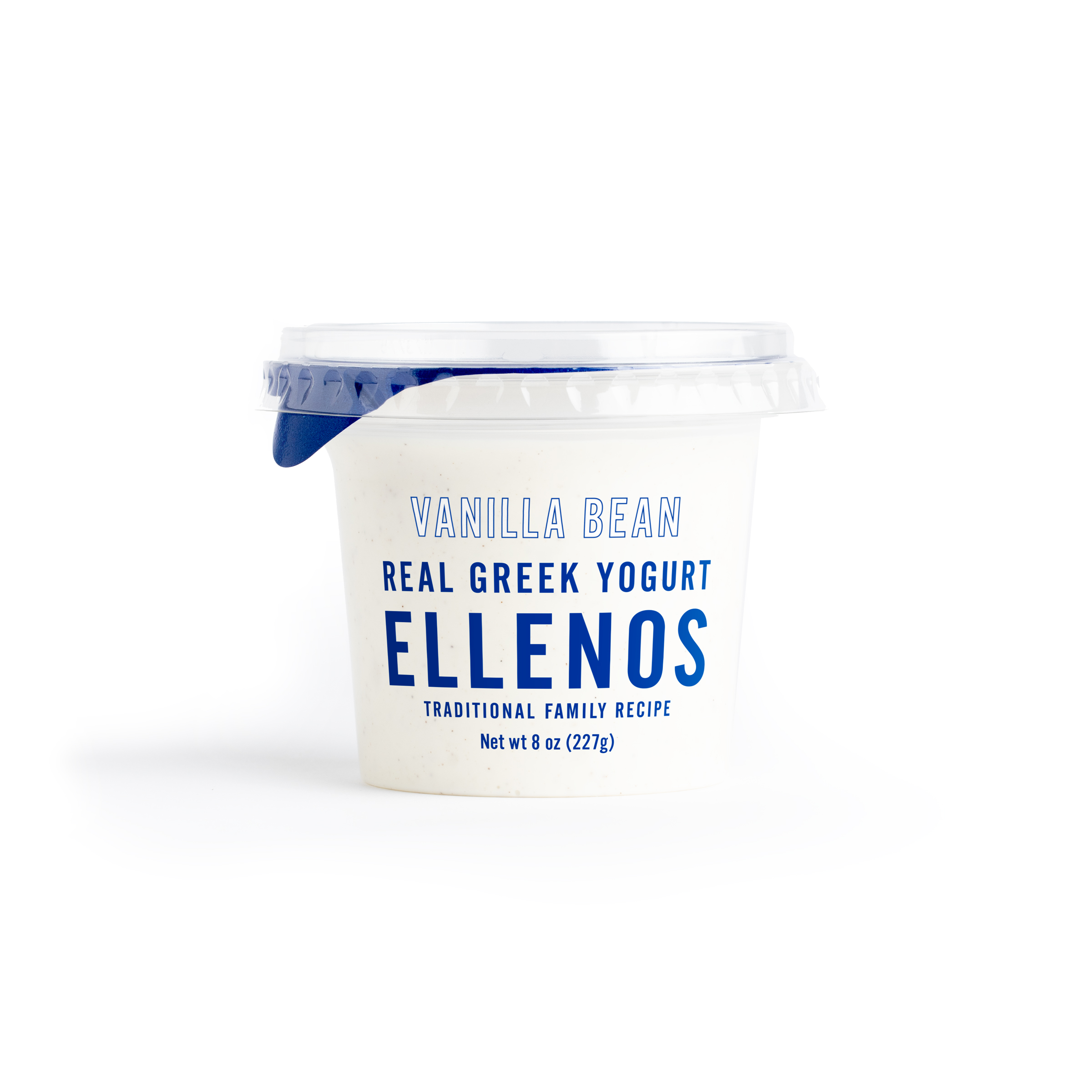 Vanilla Bean Real Greek Yogurt (8 oz), 8 oz, Ellenos | Whole