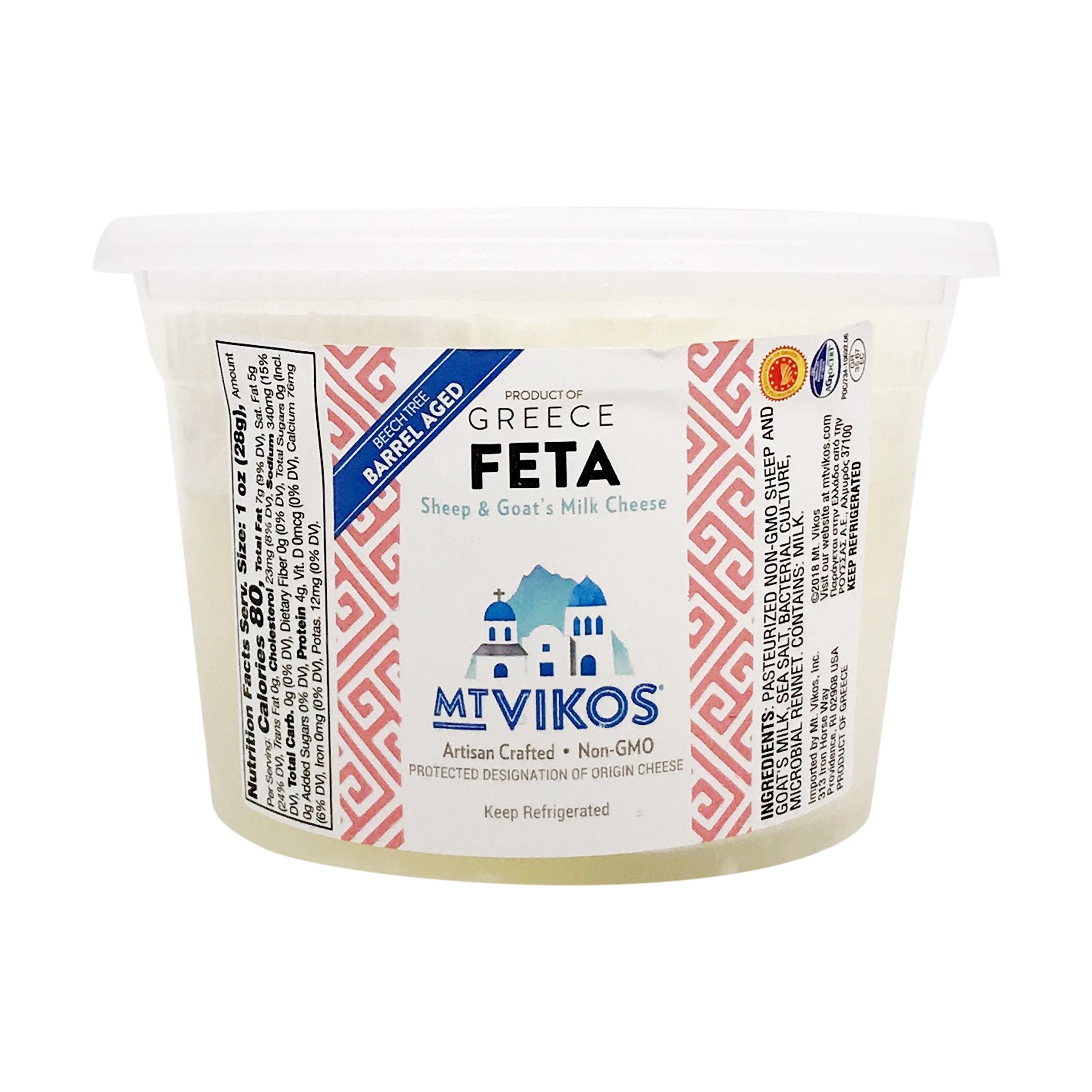 Mt  Vikos Barrel Aged Feta, 1 lb, Mt  Vikos | Whole Foods Market