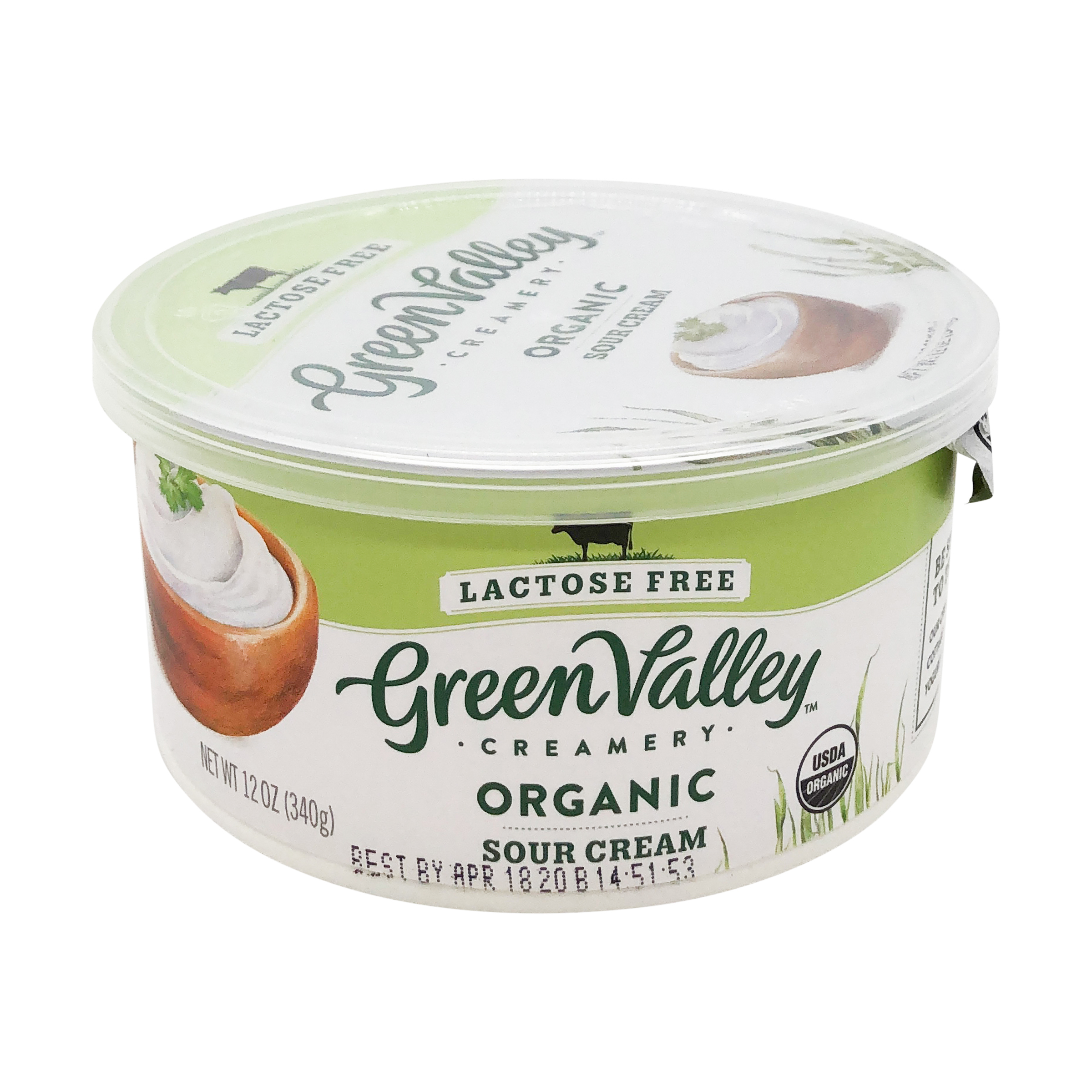 Lactose Free Sour Cream 12 Oz Green Valley Creamery Whole Foods Market