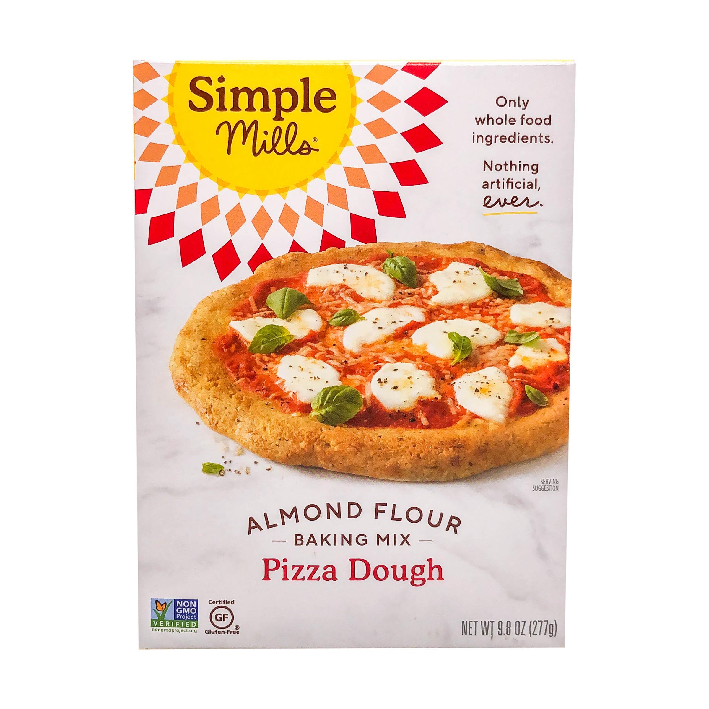 Pizza Dough Almond Flour Mix 9 8 Oz Simple Mills Whole Foods Market
